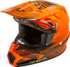 Toxin MIPS Cold Weather Embargo Motorcycle Helmet Neon Orange/Black Youth Large