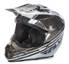 F2 Carbon Helmet Animal Black/White X-Small