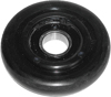 "Idler Wheel Black 3.35""x20Mm"