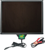 "5W Solar Battery Charger 13.25""X16""X0.875"" - For 12v Powersport Charging"