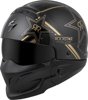 Covert Rockstar Helmet Black/Gold 2X-Large