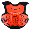Chest Protector 2.5 Junior 134-146cm Lime/Blue - Lightweight Hard Shell
