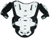 Chest Protector 5.5 Pro Jr Junior White/Black - Hard Shell