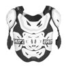 Chest Protector 5.5 Pro White - Hard Shell w/ 3DF