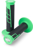 Clamp On 1/2 Waffle Grip System - Neon Green & Black