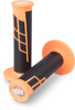 Clamp On 1/2 Waffle Grip System - Neon Orange & Black
