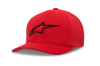 Mock Mesh Hat Red/Black Small/Medium