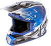 Toxin Resin Helmet Black/Blue Youth Small