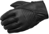Short Cut Gloves Black Medium