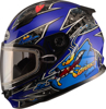 GM-49Y Alien Full Face Helmet Blue Youth Large