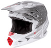 Toxin Resin Helmet Matte White/Grey X-Small