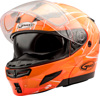 Gm-54S Modular Scribe Snow Helmet Hi-Vis Orange Sm