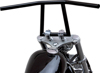 "8"" Attack Bar W/Dimples Steel/Black 1"" - For 82-18 H-D"