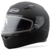 Ff-49 Full-Face Snow Helmet Matte Black - Size 3XL