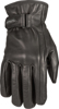 Ladies I-84 Leather Riding Gloves Black XL