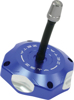 Blue Billet Gas Cap w/Vent Tube - For 00-19 Suzuki RM/Z Yamaha TTR