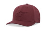 Ageless Emboss Hat Burgundy Large/X-Large