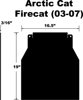 Snow Flap - For 03-05 Arctic Cat Firecat