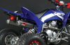 Dual Force 4 Black Full Exhaust - -14 Raptor 700