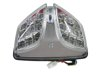 Clear Integrated LED Tail Light - For 08-18 Suzuki GSXR600/750