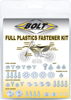 Full Plastic Fastener Kit - For 01-08 Suzuki RM125 RM250