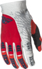 Evolution 2.0 MX Riding Gloves Red/Grey/White Sz 7