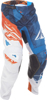 2017.5 Kinetic Mesh Pants Blue/White/Orange US 28S