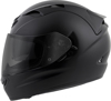 EXO-T1200 Full-Face Solid Motorcycle Helmet Matte Black Small