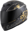 EXO-R710 Full-Face Golden State Motorcycle Helmet Black/Gold X-Small
