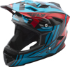Default Helmet Teal/Red Youth Medium