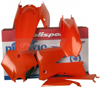 Plastic Kit OE Orange - For 05-07 KTM 125-525