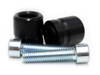 Bar End Sliders Black - For 14-16 BMW S1000R