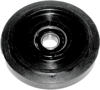 "Idler Wheel Black 3.98""x15Mm"