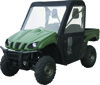 Black Cab Enclosure - For 15-17 Kawasaki Mule Pro