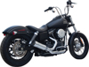 FiftyTwo52 2-in-1 Chrome Full Exhaust - For 06-17 H-D Dyna