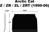 Snow Flap - For 93-06 Arctic Cat ZR/T ZL Mountain Cat