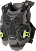 A-4 Max Chest Protector Black/Anth/Fluo Yellow Medium/Large