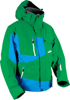Peak 2 Riding Jacket Green/Blue Small