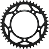 Steel Rear Sprocket 43T Black - For 00-16 Triumph Suzuki