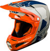 Formula Origin Helmet Grey/Orange/Blue Youth Large