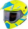 EXO-AT950 Teton Cold Weather Helmet Hi-Vis/Blue Small