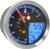 Tnt-B Multi-Function Gauge (Silver) - 15-up Yamaha Bolt