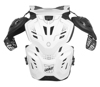 Fusion vest 3.0 L/XL 172-184cm White - Neck, Chest, Back, & Shoulder Protection
