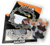 Front Brake Rotors & Organic Pads Kit
