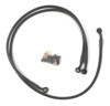 All Black Front Brake Line Kit - 14-16 Yamaha FZ-07