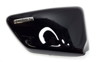 Right Side Cover Graphite Black - Honda Shadow 750