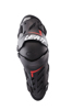 Knee and Shin Guard Dual Axis S/M Black/Red