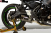 Carbon Fiber Stainless Full Exhaust - 17-19 Kawasaki Ninja 650