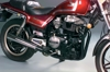 2-1 Chrome Black Megaphone Full Exhaust - Honda CM400 & CM450