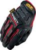 M-Pact Black/Red Gloves Size Large / 10